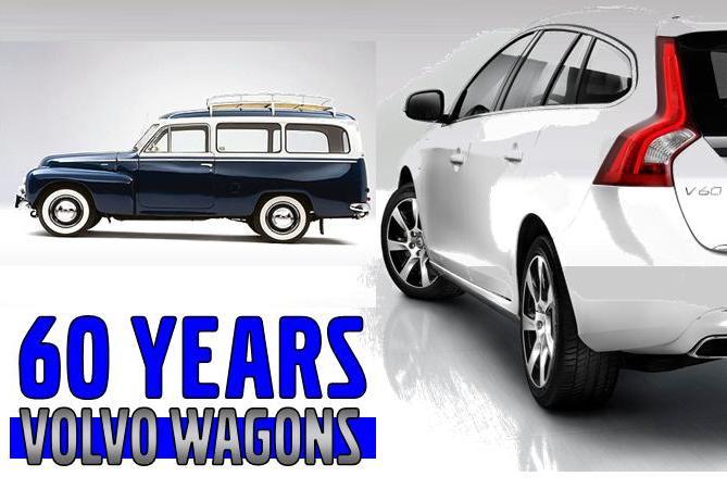Lehman Volvo Cars 60 Years Of Volvo Wagons