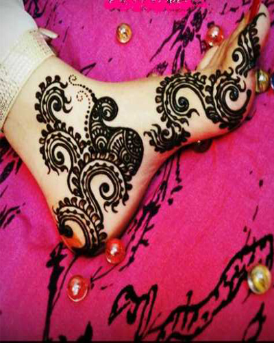Mehndi Designs Feet Arabic : Beautiful eid collection for girls best mehndi designs