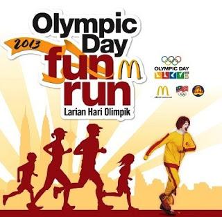 Larian Olimpik ditunda kerana jerebu
