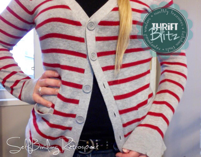 Thrift Blitz Episode One: Cardigan - SelfBinding Retrospect by Alanna Rusnak