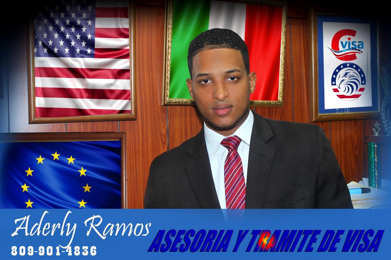 Aderly Ramos. Asesorías y trámite de visa