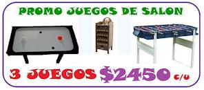 PROMO METEGOL + TEJO + SAPO