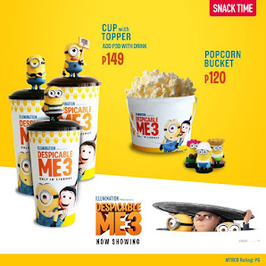 Snack Time at SM Cinemas