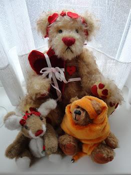 Mijn beren en konijn