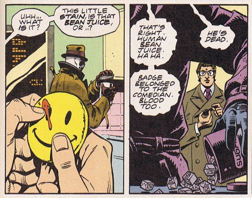 alan moores the watchmen essay Free essay: alan moore's watchmen focuses on several characters throughout the novel making the idea of a main character moot however, one character can.
