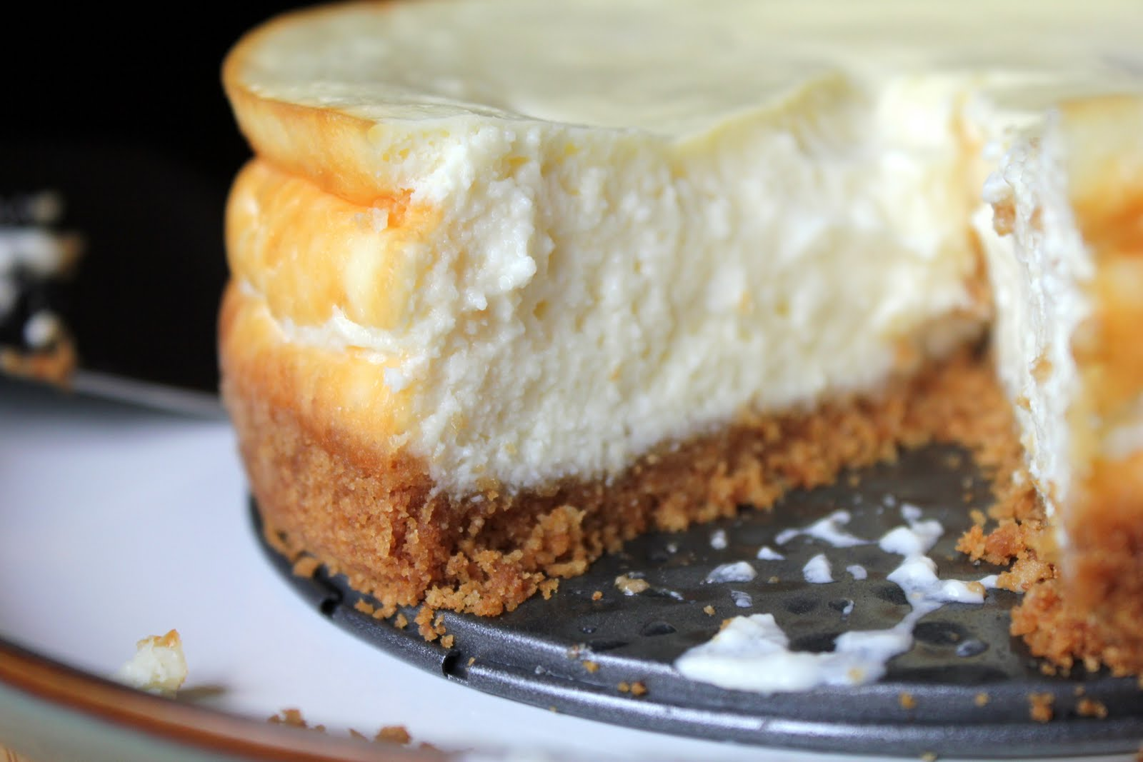 Shared Bites: Greeking Out: Greek Yogurt Cheesecake with ...