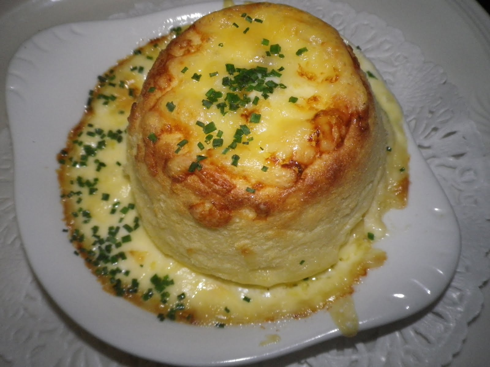 hotel & restaurant: Twice Baked Cheese Souffle Recipe