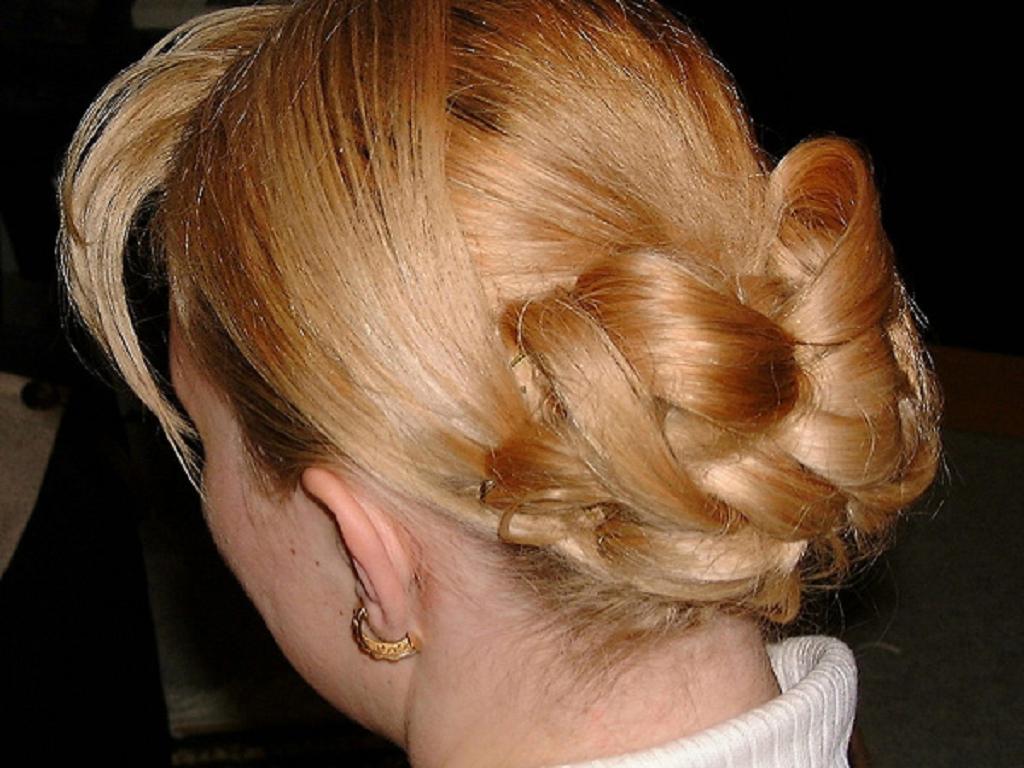 Peinados recogidos para pelo corto reanimators