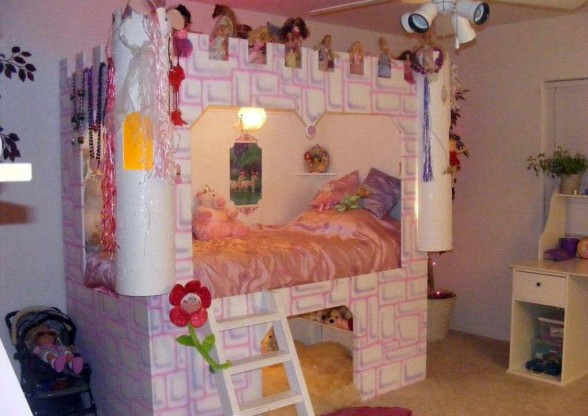 Fairy Tales Interior | 4 Castle Bed