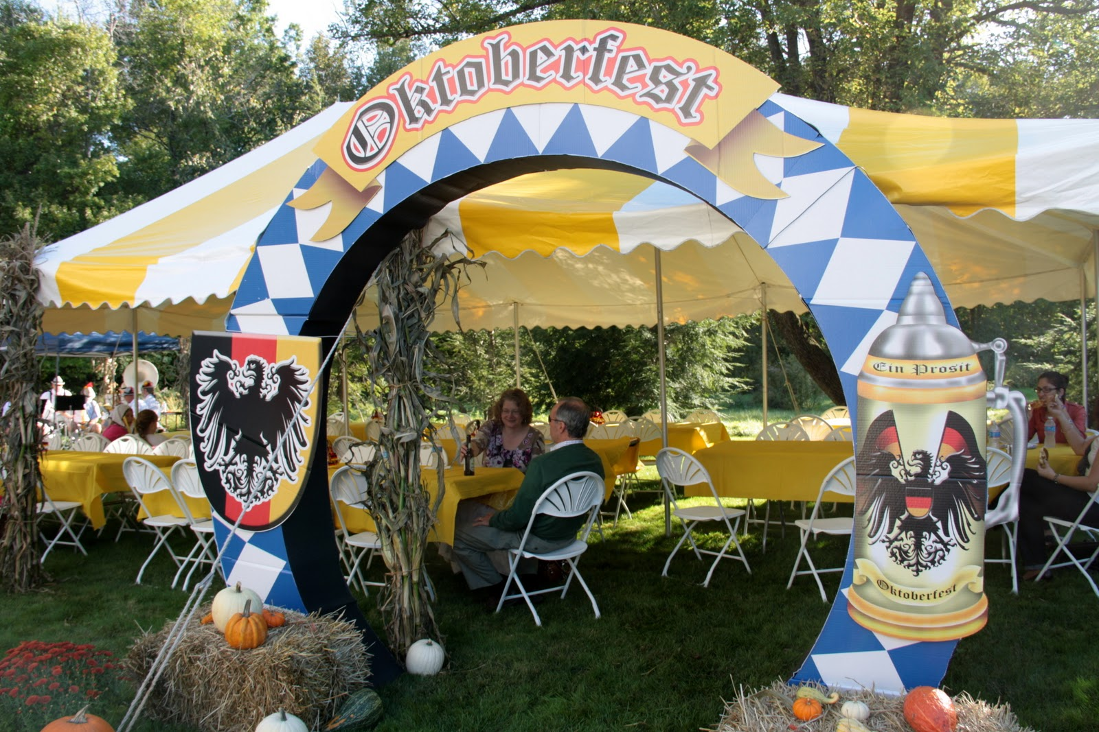 On Saturday I Attended An Oktoberfest At A Friends House They Went All Out For The Party