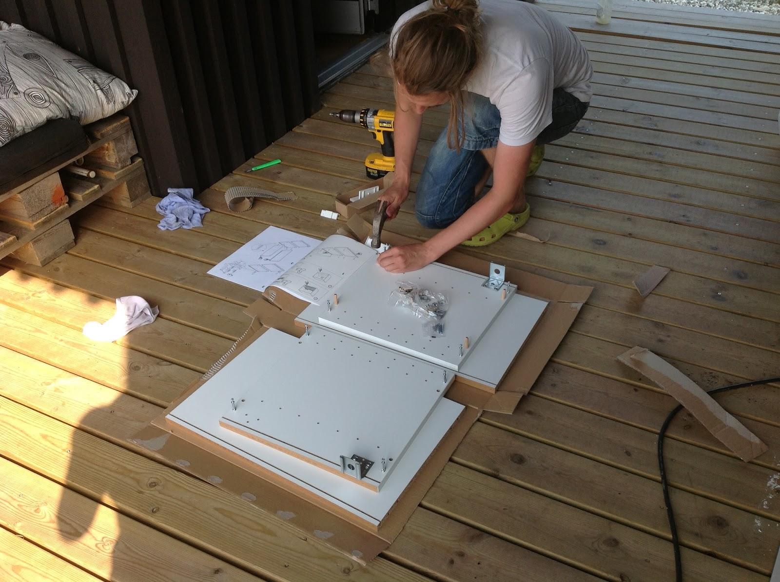 Att bygga ett hus: att inhandla överskåp på ikea eller att göra en ...