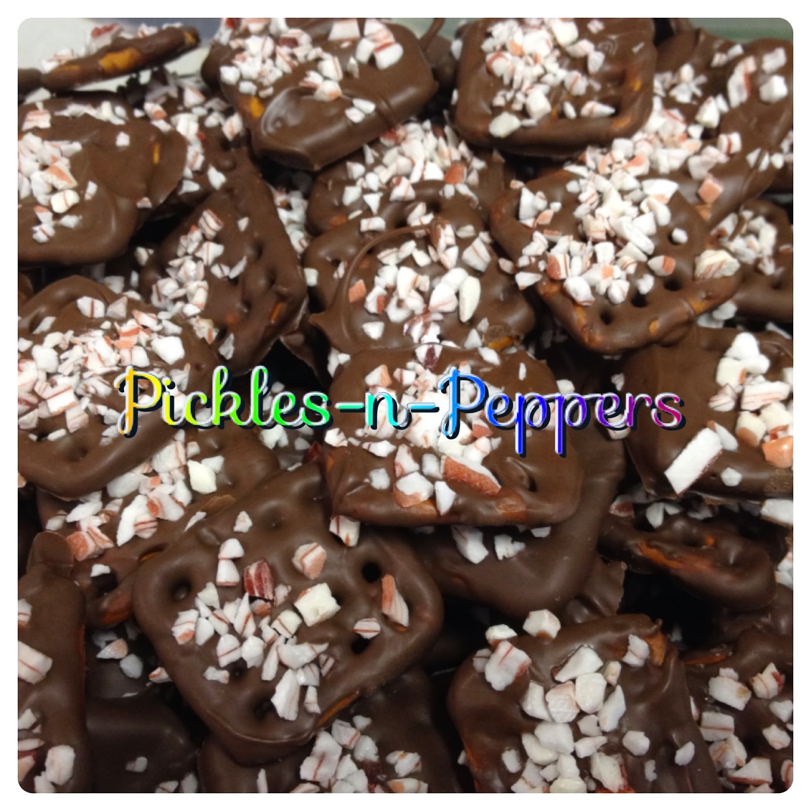 Chocolate Covered Pretzels With Crushed Candy Canes Recipes ...