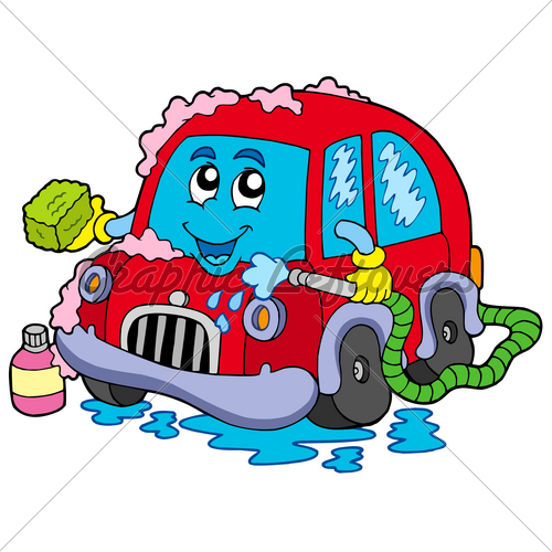 free cartoon car wash clipart - photo #44