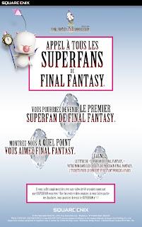 FINAL FANTASY : concours Super Fan