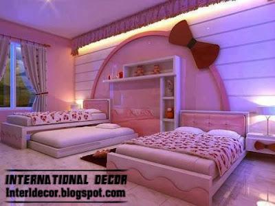 Modern Bedroom Designs 2013 For Girls : Teen girls bedroom romantic ideas 2013 with romantic colors