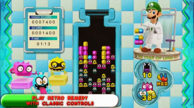 Screenshot of Wii U eShop game Dr. Luigi