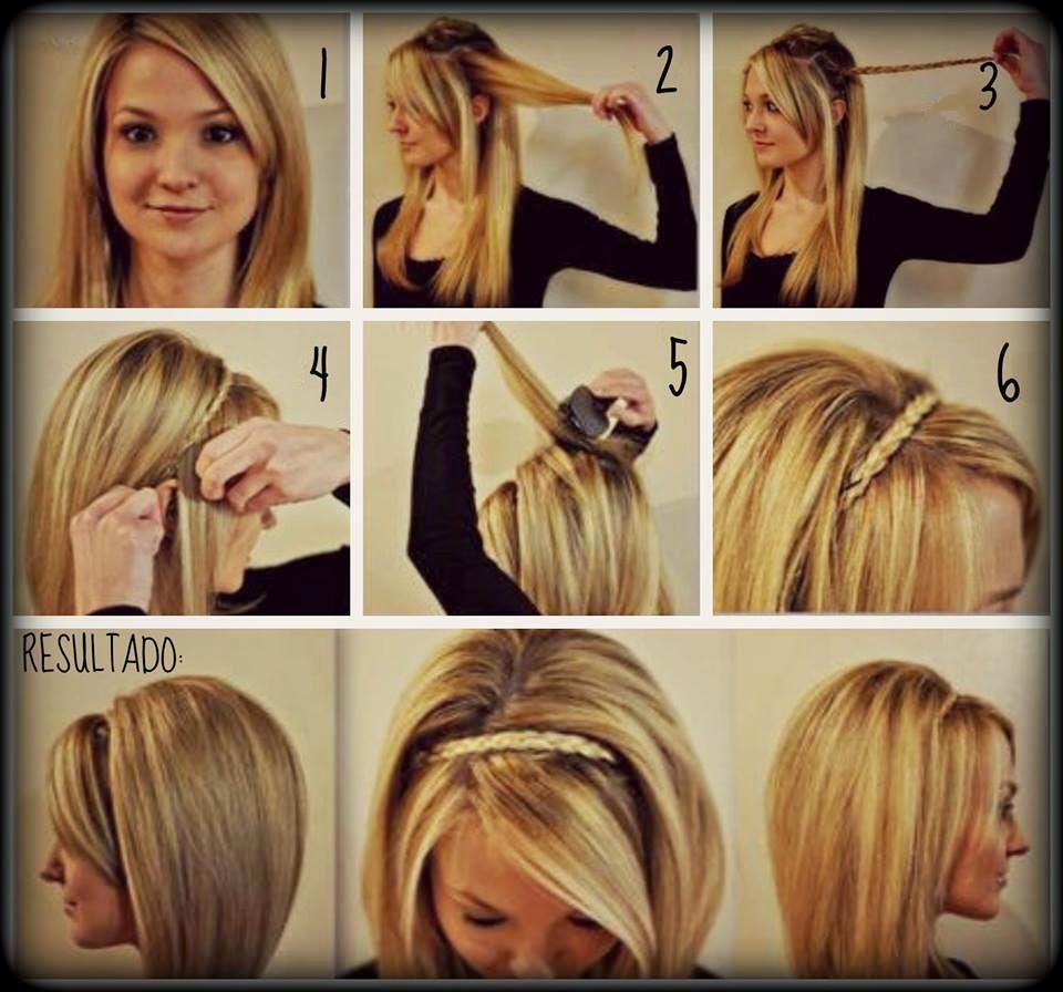 Como hacer peinados faciles para fiestas elainacortez - Peinados fiesta faciles ...