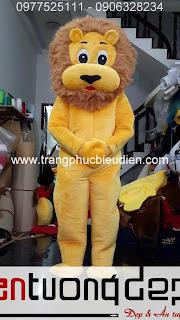 may mascot sư tử