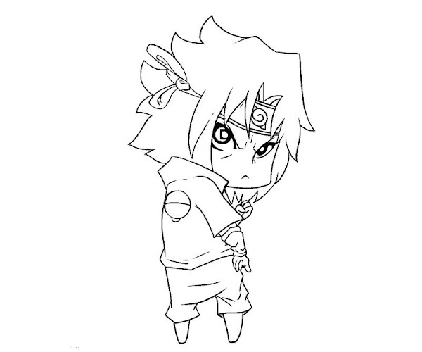 sasuke uchiha coloring pages
