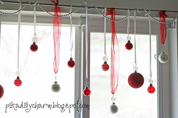 As the card rack turns 12 easy diy christmas decorating ideas - Easy diy decoration ideas for window decor ...