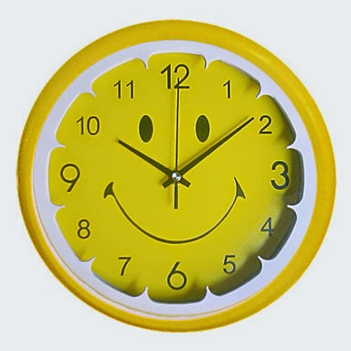Reloj de pared smiley relojes especiales - Reloj de pared original ...