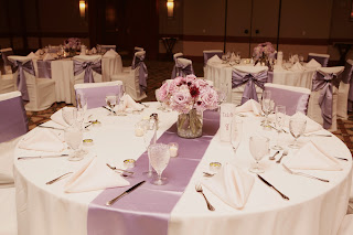 at last wedding and event design reception