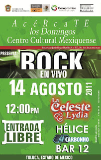 Rock en Centro Cultural Mexiquense