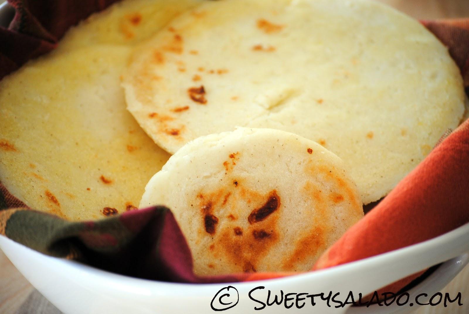 Sweet y Salado: Colombian Arepas