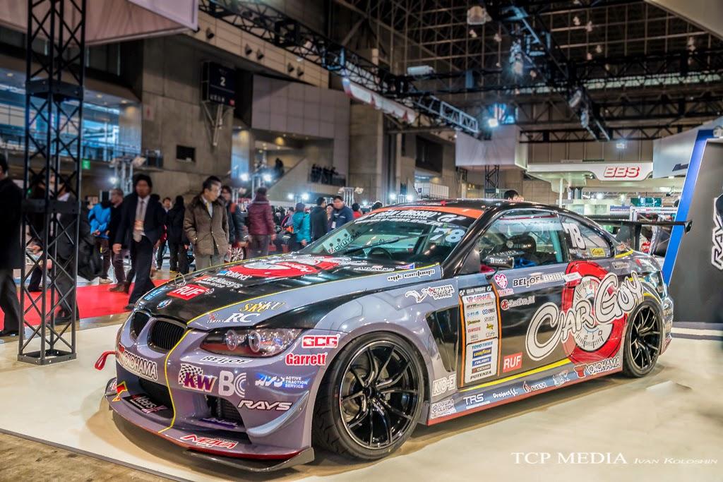 BMW JDM Tokyo Auto Salon 2015 Carguy D1 Drift