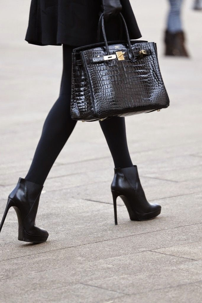 black berkin bag