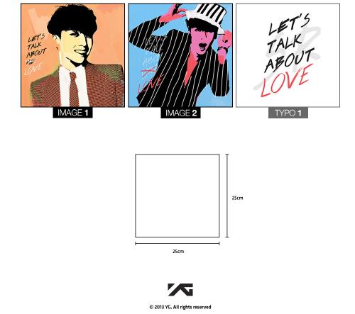 Big Bang : Seung Ri - 2013 Let's Talk About Love Artwork