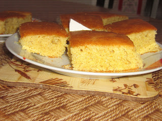 Corn Bread (Proja) from Whole-Wheat Flour