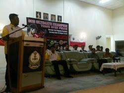 Ucapan perasmian penutup Presiden GB4B Malaysia dalam kejohanan tomoi terbuka Perak