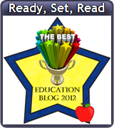 Ready. Set. Read, blog award, free printables