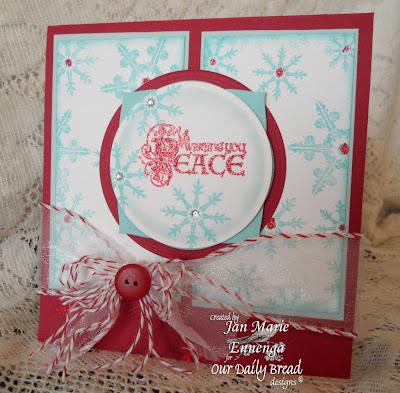 Sparkling Snowflakes, Christmas Flourished Verses