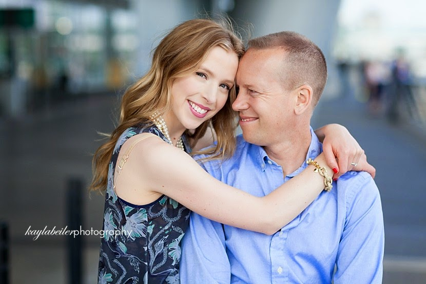vancouver engagement portraits photo
