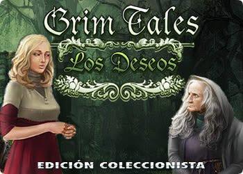 Grim Tales: Los Deseos Edición Coleccionista en Español Oficial Objetos Ocultos