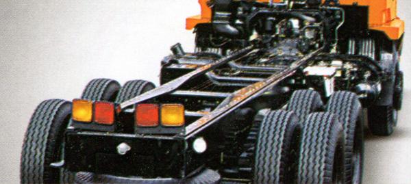 Mitsubishi Fuso Tronton FN 527 MS 220 PS 6x4
