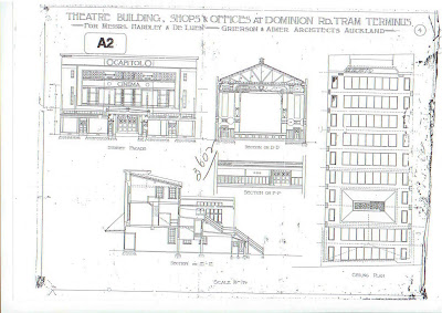 Capitol Cinema Balmoral drawings
