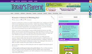 Screenshot of Today's Parent article