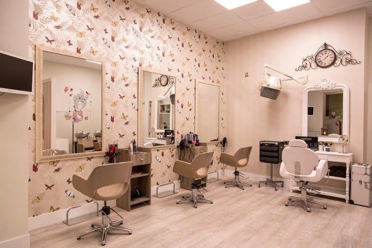 Hablamos de dise o te apuntas transformaci n de la - Interiores de peluquerias ...