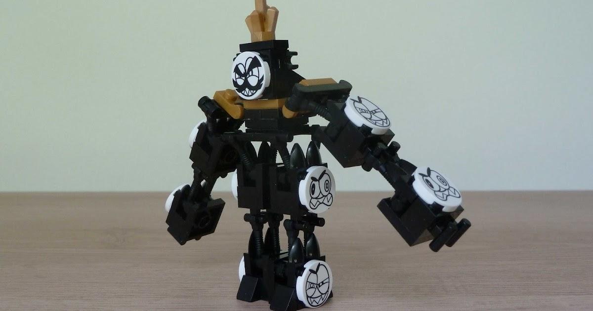 Totobricks King Nixel Instructions Lego Mixels Model From Lego Club
