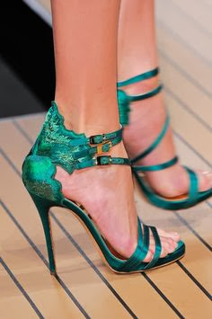 ermanno scervino sandal heels for spring 2014