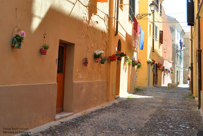 centre historique alghero sardaigne italie
