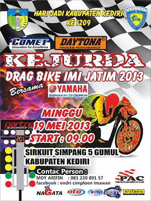Jadwal Drag Bike Indonesia 2013