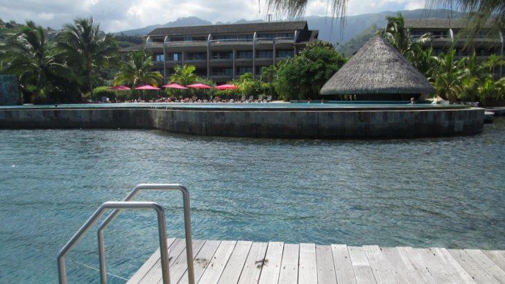 Vue d'ensemble côté mer - Manava Suite Resort Tahiti