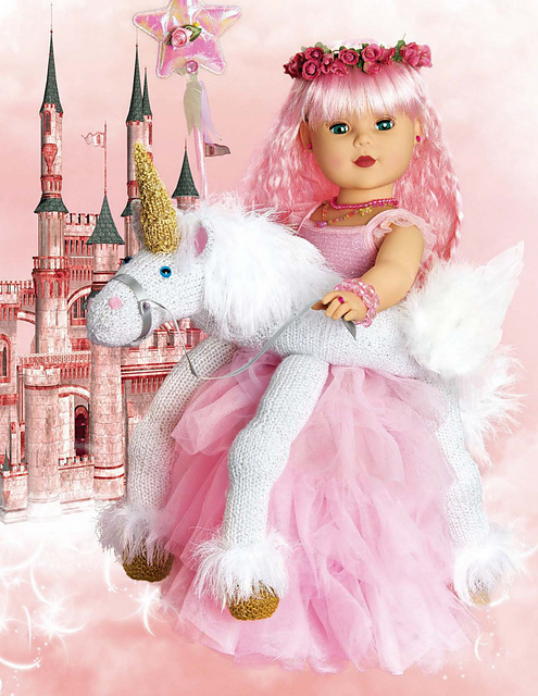 Unicorn Knitting Books : Knitting like crazy book review enchanted knits for dolls