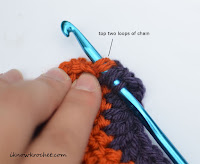 stitch in ch3 step 3