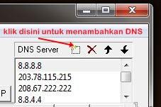 cara mengganti DNS