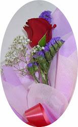 mawar merah semangat